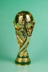 polyresin FIFA trophy