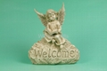 Polyresin Garden Angel welcome