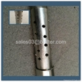 strength enhanced steel round hole