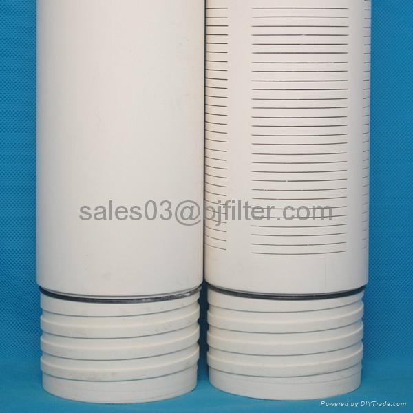 Chinese manufacture thread end slotted pvc pipe screen for