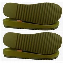 TPR大底+PVC中底女式凉拖鞋双层鞋底