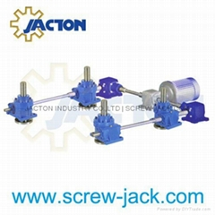 worm gear lifting screws for jacking and lifting systems supplier