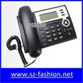 cost effective 2 sip lines Yealink voip phone with HD lcd display 2