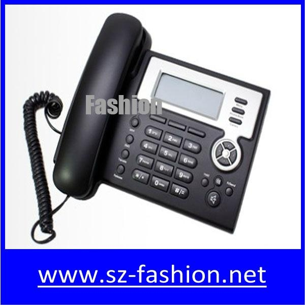 cost effective 2 sip lines Yealink voip phone with HD lcd display 1