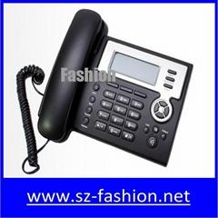 2 sip lines Yealink ip phone with lcd display