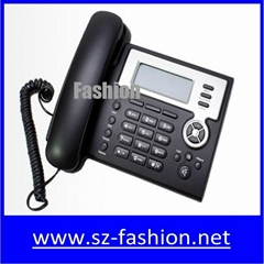 2 sip lines Yealink voip phone with lcd