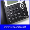 cost effective 2 sip lines Yealink voip phone with HD lcd display 3
