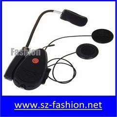 hot-selling 100m range Motorcycle Helmet Bluetooth Headset with FM radio