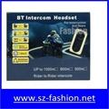 free talking two riders 1000m motorcycle helmet bluetooth interphone 2