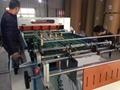 High speed web double helix cutter 3