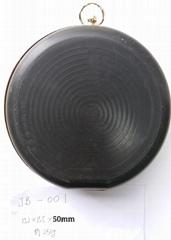 metal plastic shell handbag frame