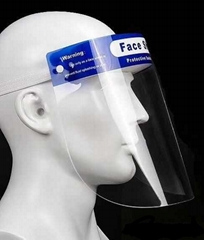 Hight clear Transparent safety face visor shield  Protective mask