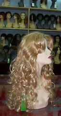Wigs European style by hand-tied
