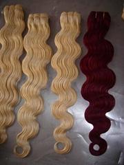Human hair,Hair weaves,Hair extension
