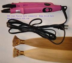 Fusion hair connector,Hair Extension Iron,Keratin bonding hair