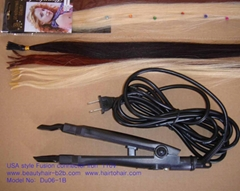 USA Type Hair Extension Iron,Bonding clamp