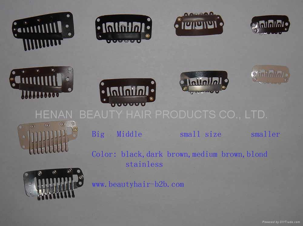All Size Clipswigs Clipshair Extension Clips China Manufacturer