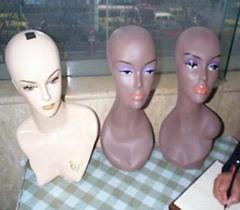 various Mannequin head,p