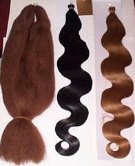 Jumboo braid,Yaki pony,Synthetic hair