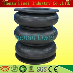 high quality three sphere pipe fitting rubber expansion joint