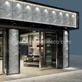 metal wall decor panels for facade