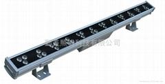 大功率LED36*3W三合一芯片全彩洗牆燈