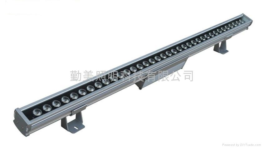 大功率LED36*3W三合一芯片全彩洗牆燈 5
