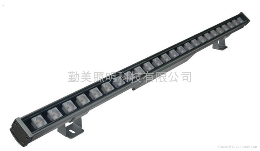 大功率LED24W格柵透鏡洗牆燈 2