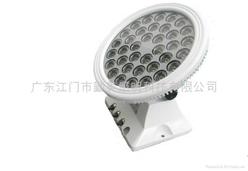 36W大功率全彩DMX512外控超聚光LED投光燈 2