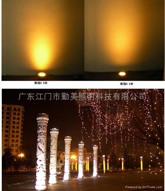全新款9W暖白色大功率LED偏光地埋燈 4
