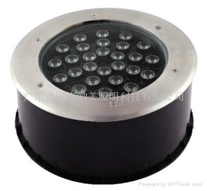 大功率LED36W圓形照樹地埋燈 3