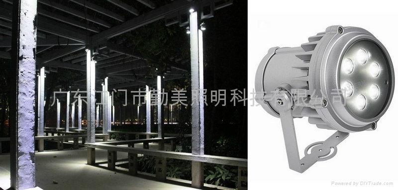 大功率LED6*3W超聚光投射燈 1