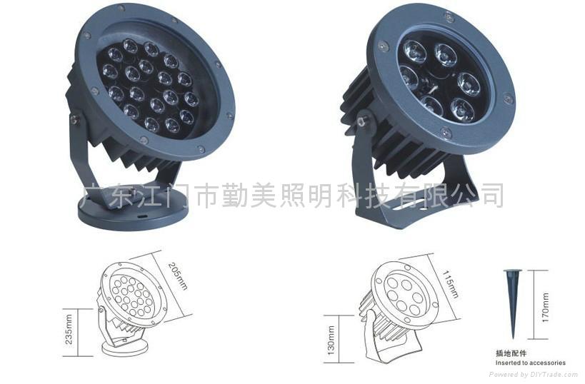 大功率LED草坪插地燈 4