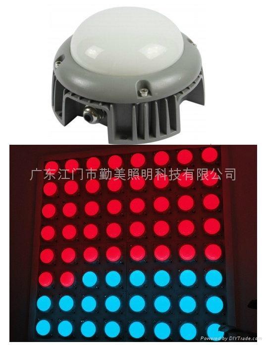 15W大功率LED五面發光外控全彩點光源 1