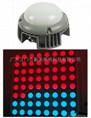 15W大功率LED五面發光外控全彩點光源