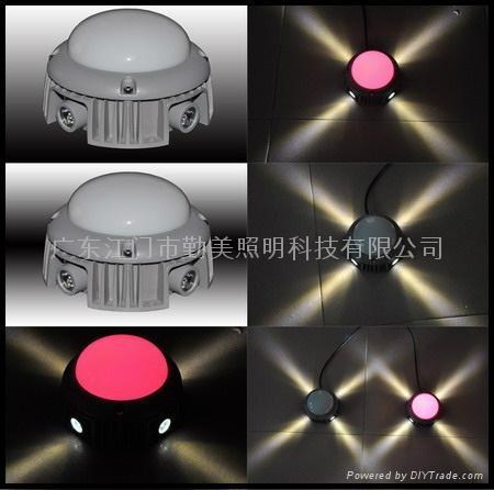 15W大功率LED五面發光外控全彩點光源 2