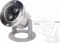 3W暖白色LED304不鏽鋼水下燈 3