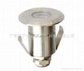 3W暖白色LED304不鏽鋼水下燈 4