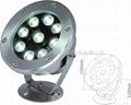 12W外控全彩LED不鏽鋼水下燈 4