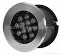 12W外控全彩LED不鏽鋼水下燈 5