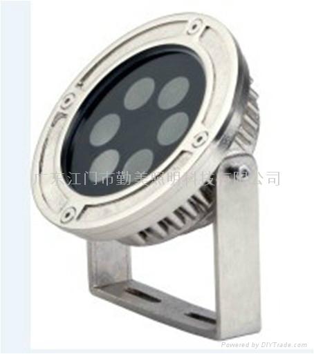 LED6*3W內控全彩噴泉燈 3
