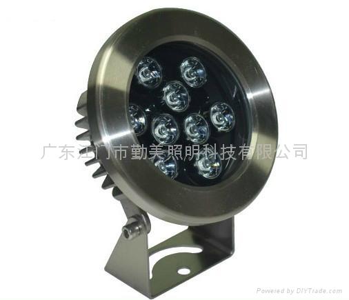 LED6*3W內控全彩噴泉燈 4