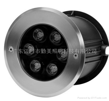 LED6*3W內控全彩噴泉燈 5