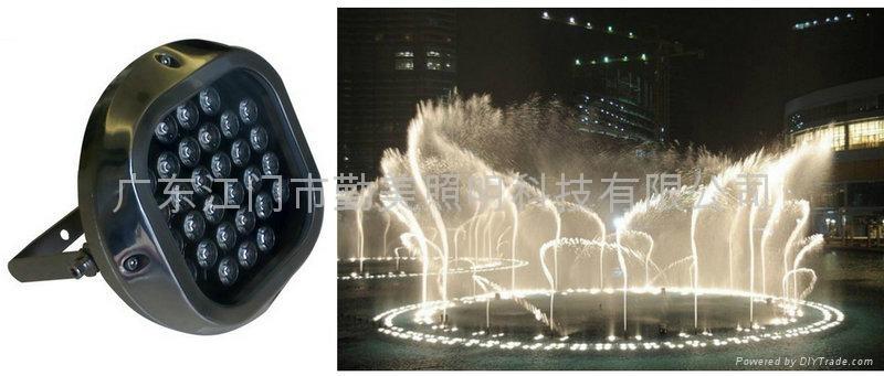 LED30W大功率音樂噴泉燈 1