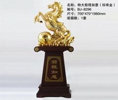 深圳千藝坊特大馬前程如意