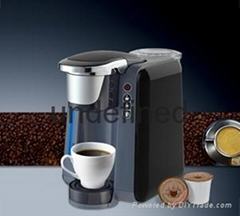 K-cup capsule coffee machine