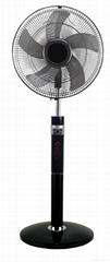 Supply 16 inch Super figure 8 oscillation stand fan with remote for Australia