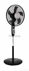 Buy china electric  fan factory 16 inch oscillating stand fan