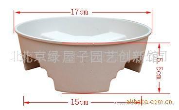 塑料花盆托盤十字丁字型 5