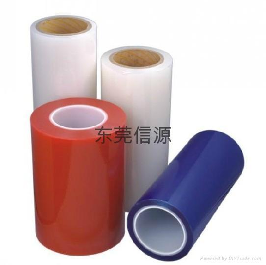 黑色高光塑膠件PE保護膜 1